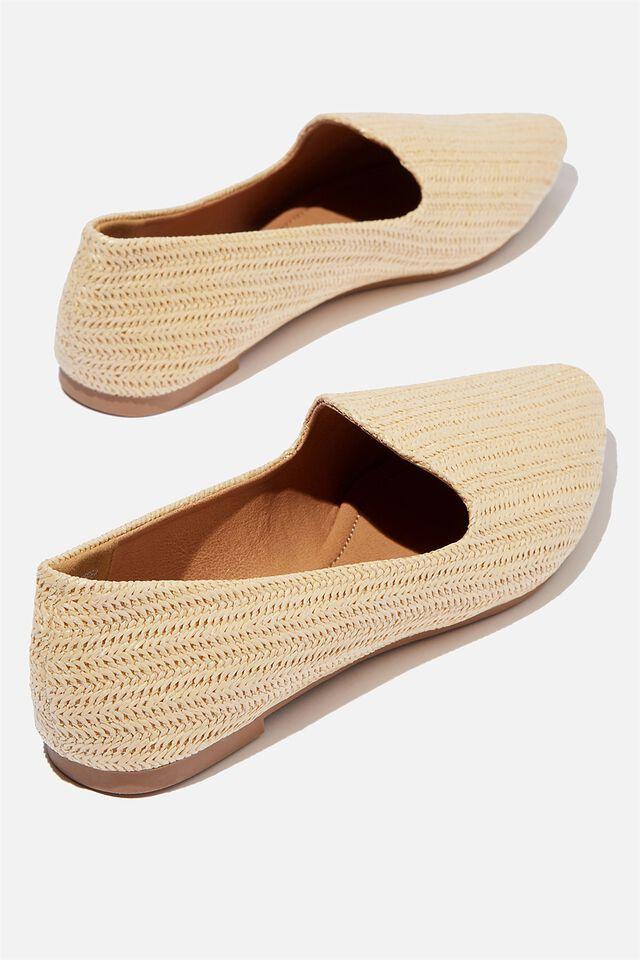 Essential Tiana Slipper, SAND RAFFIA