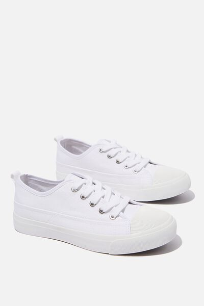 Jenna Low Rise, WHITE