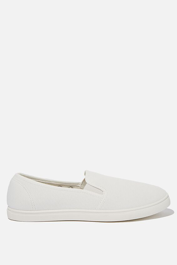 Holly Slip On, WHITE CORD