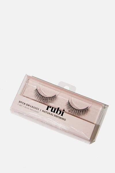 Stick On Lashes, NATURAL DEFINING