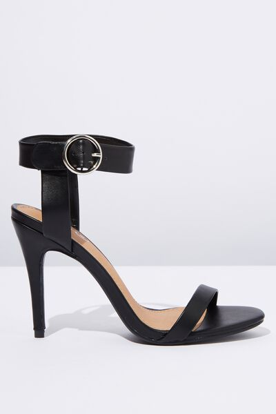 Skylar Stiletto Heel, BLACK SMOOTH