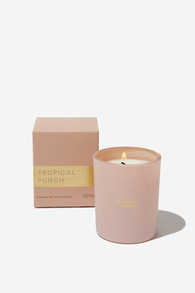 Body Candle, BLUSH/TROPICAL PUNCH