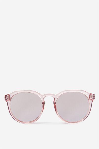 Emerson Preppy Sunglasses, ADOBE ROSE