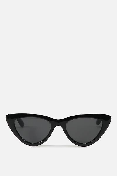 Narrah Short Frame Cateye, S.BLK/SMOKE