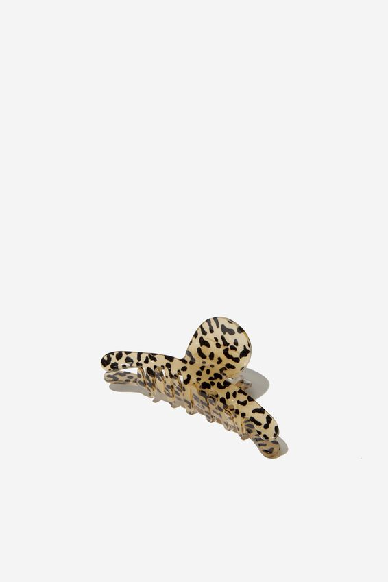 Dolly Hair Claw, LEOPARD