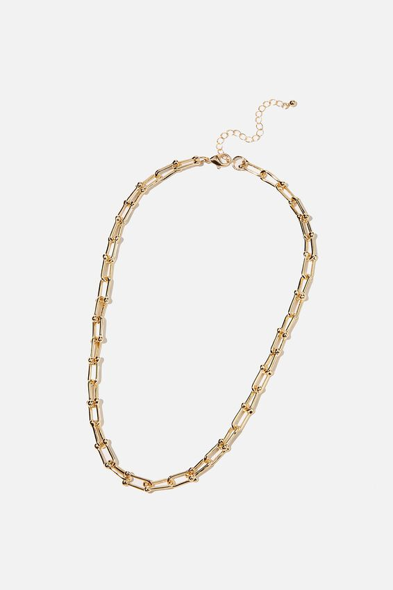 Luxe Layers  Statement Necklace, GOLD