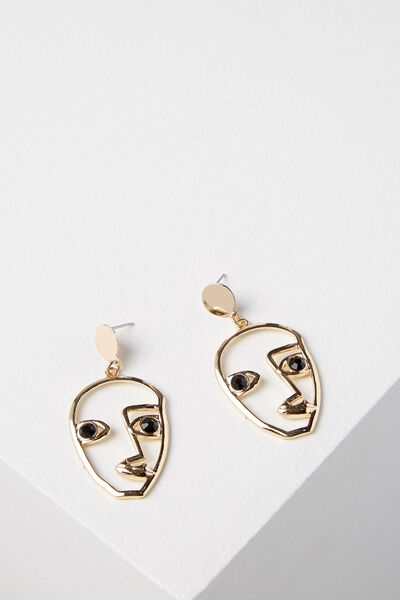 Paddington Earring, GOLD