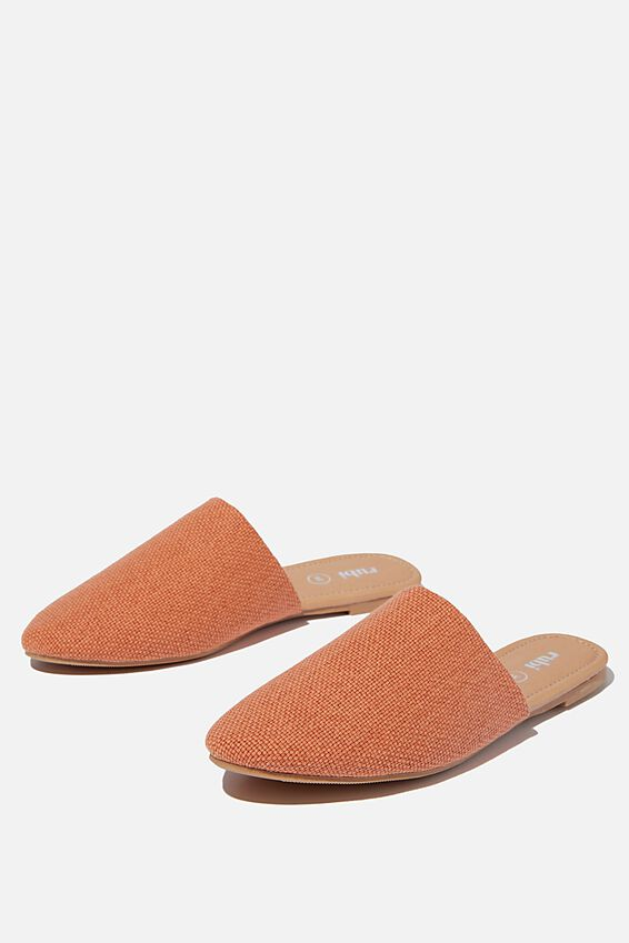 Essential Avery Almond Toe Mule, RUSTIC SUNSET TEXTURE