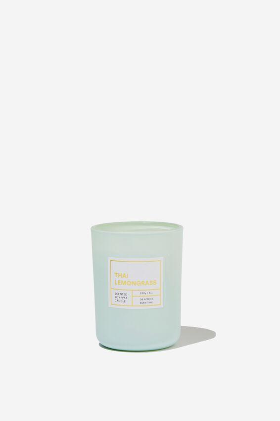 Modern Candle, THAI LEMONGRASS/MINT