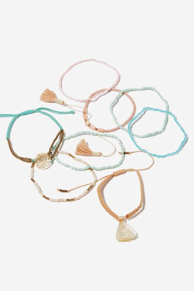 Red Sea Friendship Bracelet, MULTI