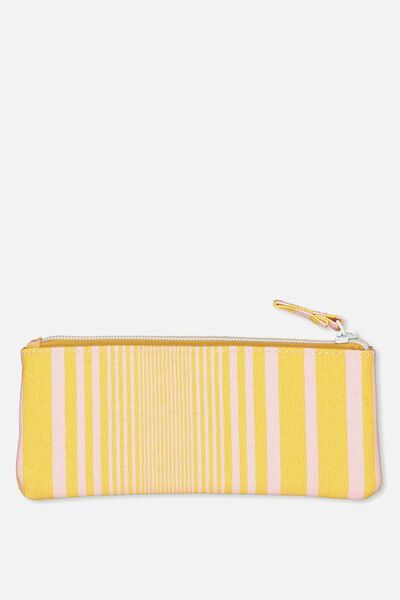 Mini Essentials Cos Case, MUSTARD STRIPE