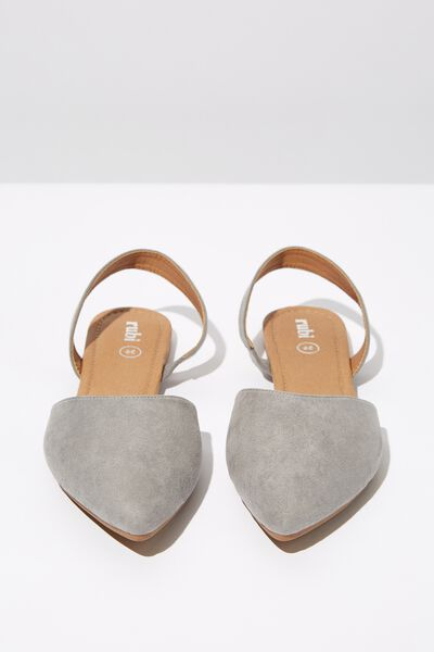 Simone Slingback Point, FROST GREY MICRO