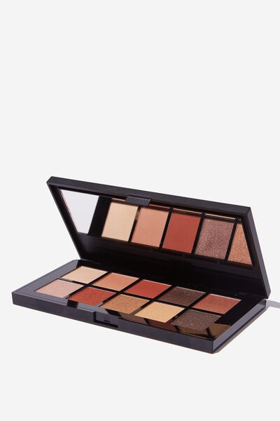 Eyeshadow Palette - 10 Colour, BURNING UP