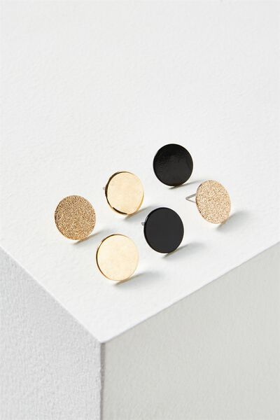 Claire Core Stud Pack, GOLD