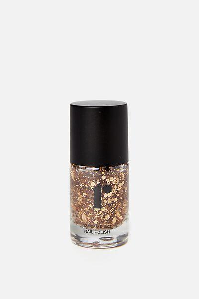 Nail Polish, GOLD GLITTER