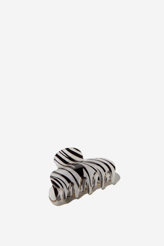 Large Hair Claw, ZEBRA