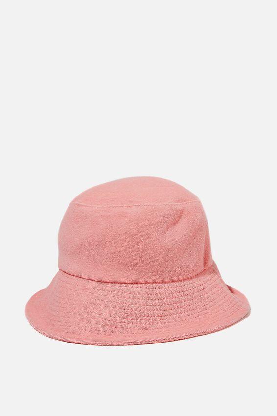 Bianca Bucket Hat, FAIRY FLOSS TERRY