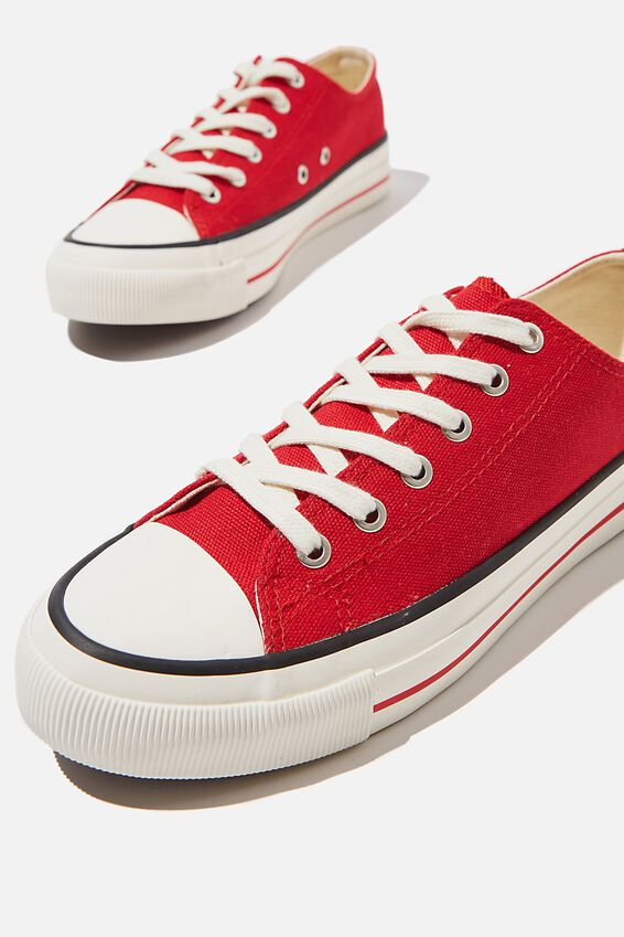 Billie Retro Low Rise, RED