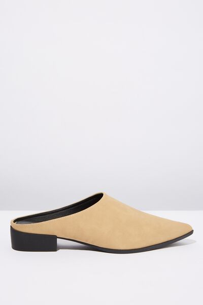 Stella Point Mule, SAND NUBUCK PU