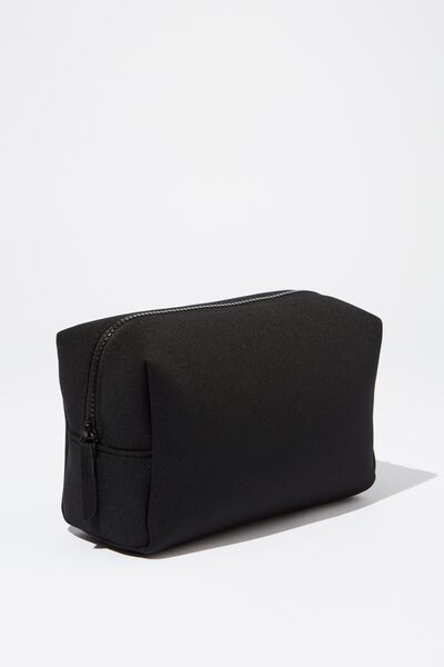 Marlee Cosmetic Case, BLACK