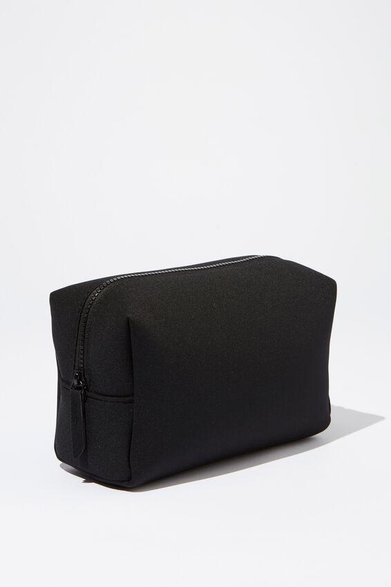 Marlee Cosmetic Case, BLACK