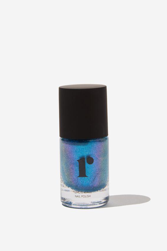 Nail Polish, BLUE HOLOGRAPHIC