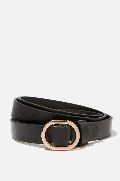 Mila Belt, BLACK