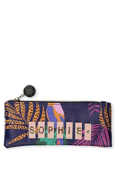 Personalised Mini Cosmetic Case, PARROT