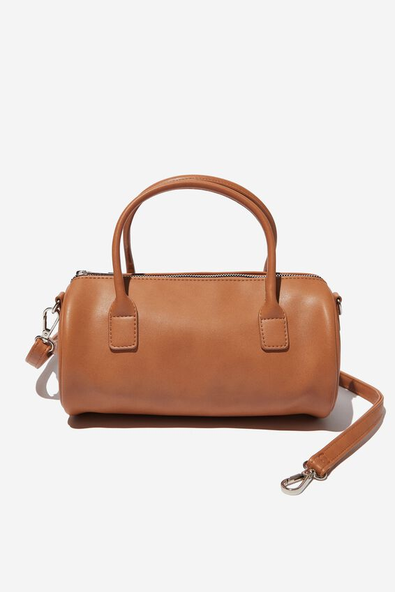 Kate Barrel Handbag, TAN