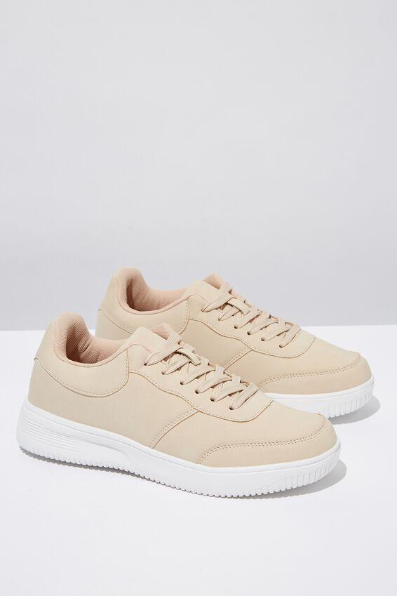Alice Low Rise Sneaker, NUDE