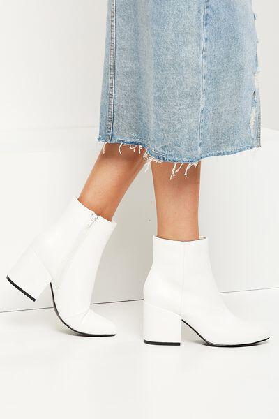 Floyd Boot, WHITE
