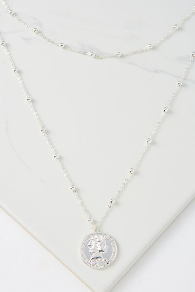 Elwood Necklace, SILVER