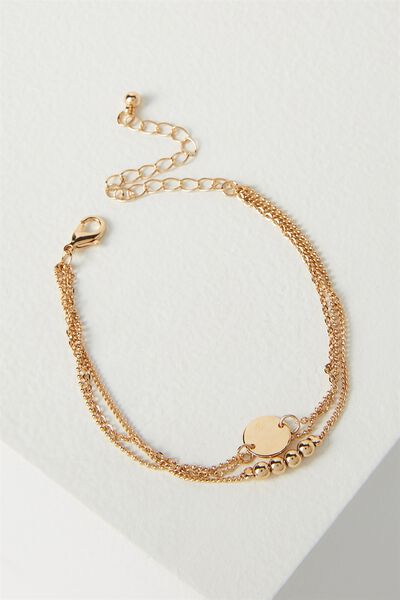 Juliet Bracelet Set, GOLD