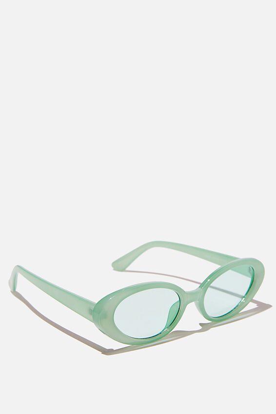 Hazel Sunglasses, MINT CRYSTAL