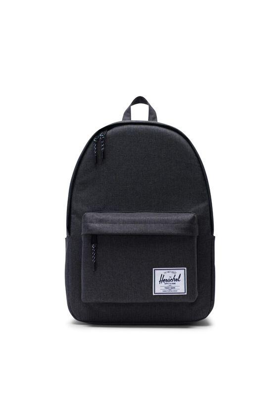 Herschel Classic X-Large Backpack, BLACK CROSSHATCH