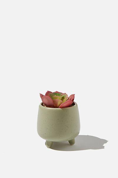 Mini Planter, SAGE SPECKLE