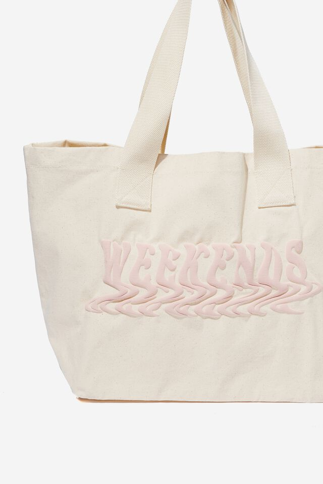 Everyday Canvas Tote, WAVY WEEKENDS