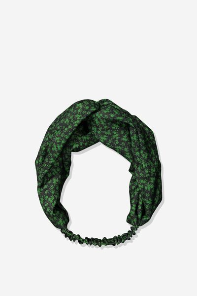 Manhattan Headband, GREEN CARRIE DITSY FLORAL