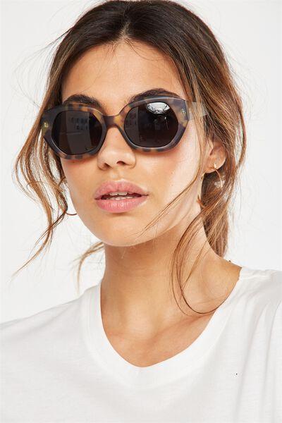 Kyla Sunglasses, TORT