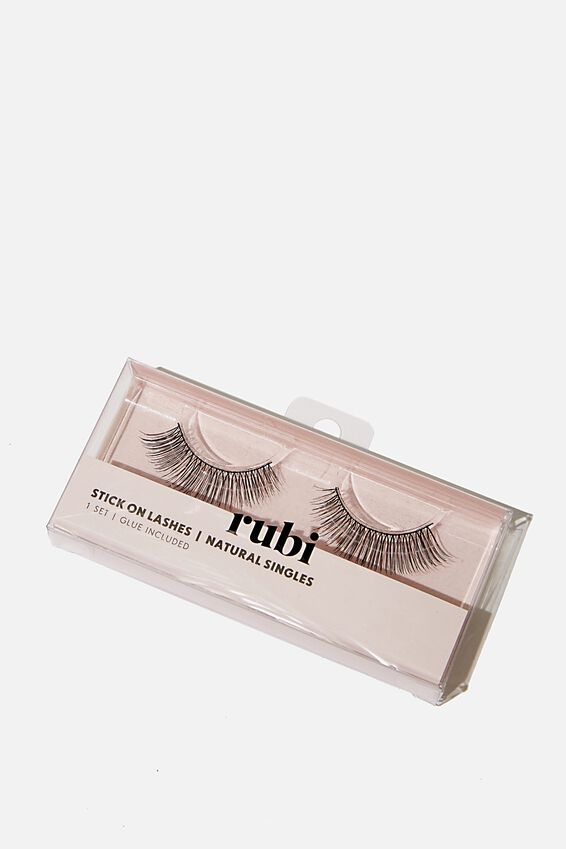 Stick On Lashes, NATURAL SINGLES
