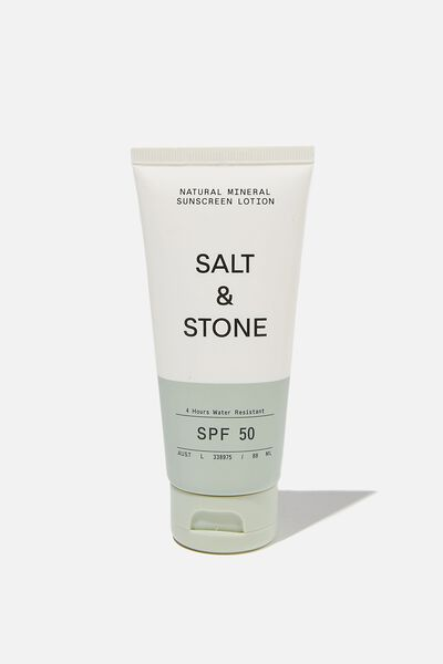 Salt & Stone Spf 30 Sunscreen Lotion, NATURAL MINERAL