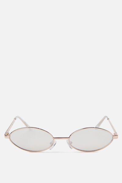 Becky Sunglasses, ROSE GOLD/ROSE GOLD