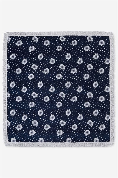 Double Up Boyfriend Towel, AURORA DAISY SPOT