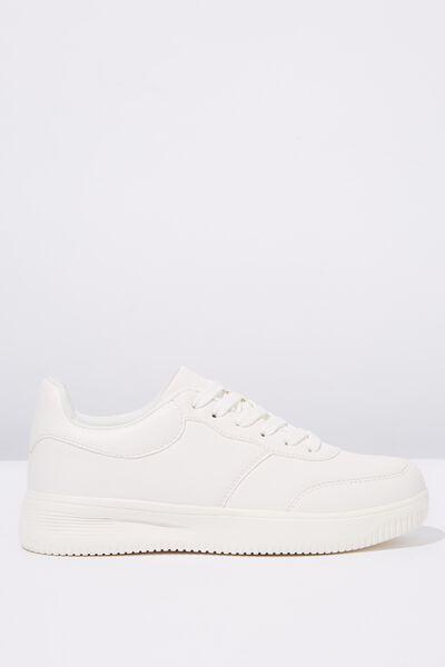 Alice Low Rise Sneaker, WHITE
