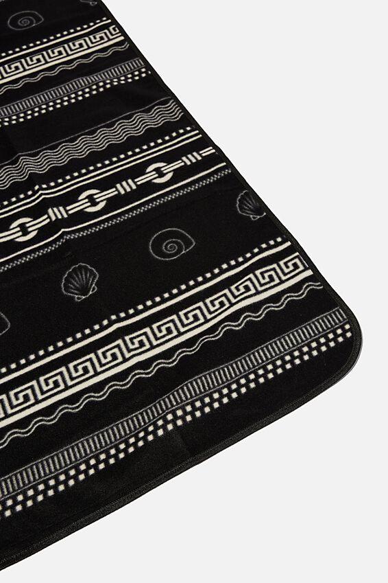 Picnic Blanket, BLACK SHELL YARDAGE