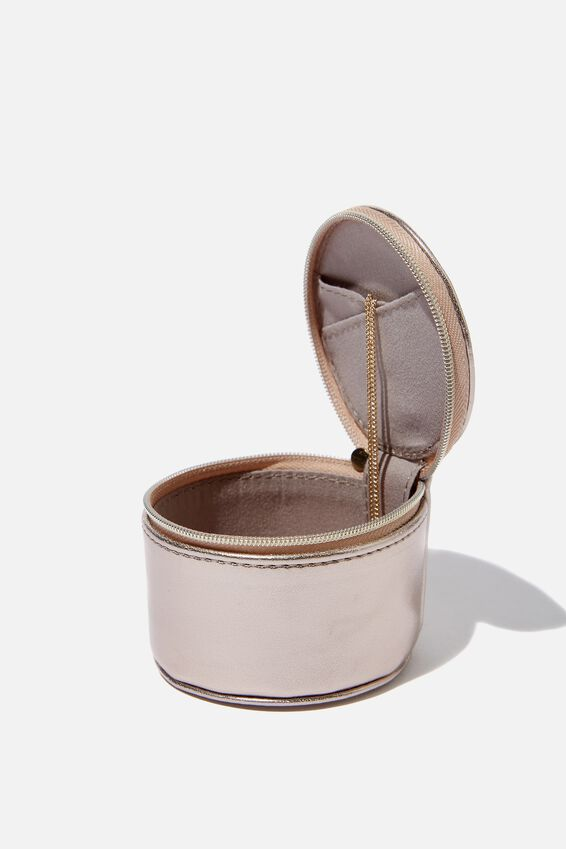 Personalized Mini Jewelry Box, ROSE GOLD
