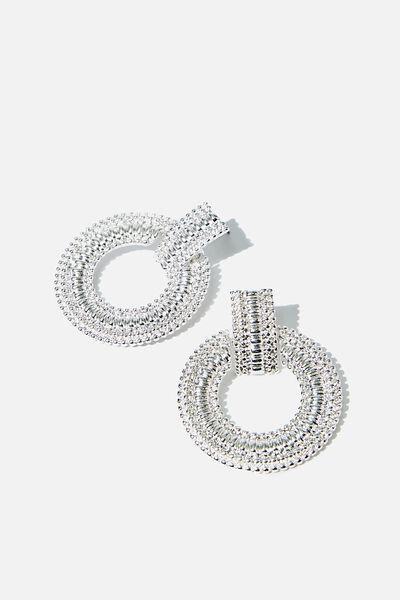 Azadi Ancient Earring, SILVER