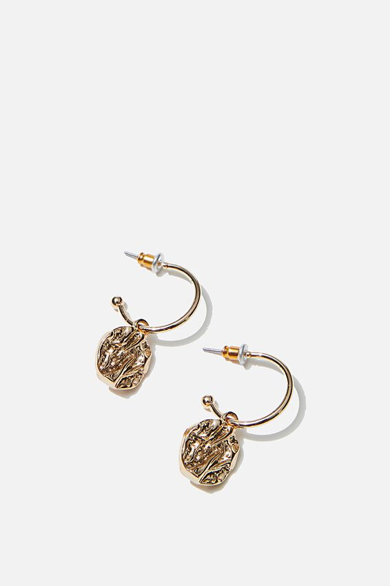 Luxe Layers Molto Bene Hoop, GOLD