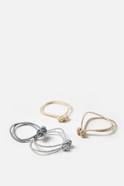 Hair Ties, BLONDE KNOT
