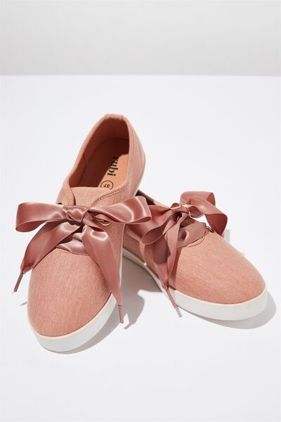 Indy Bow Plimsoll, FUDGE JERSEY